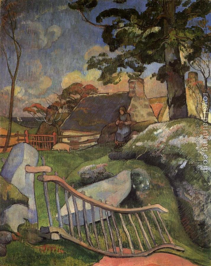 Paul Gauguin : The Gate